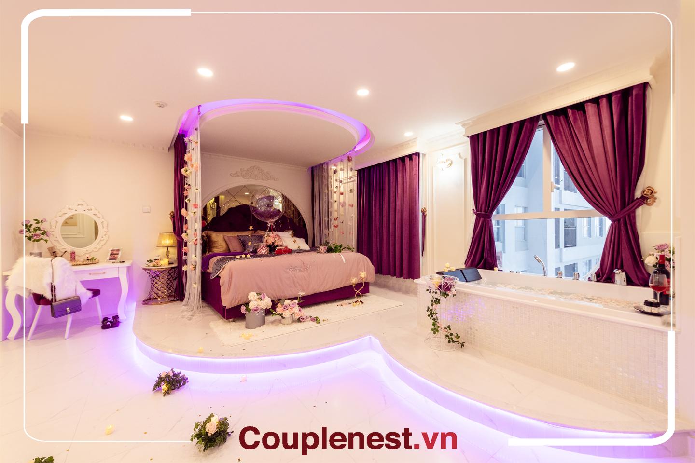 Căn hộ cao cấp cho thuê tại Couple Nest