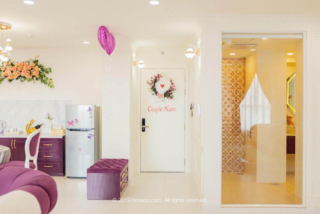 Phong cách của một căn hộ dịch vụ cho thuê