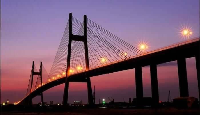 Cầu Phú Mỹ - Địa điểm chụp hình quận 7