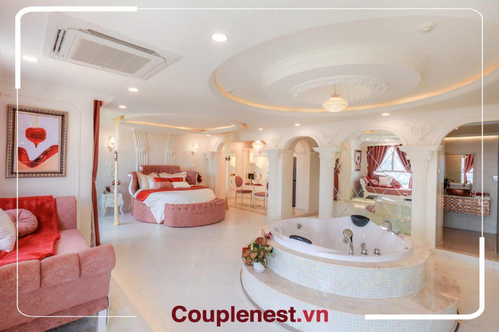 Một không gian căn hộ lãng mạn - địa điểm chụp đẹp hcm