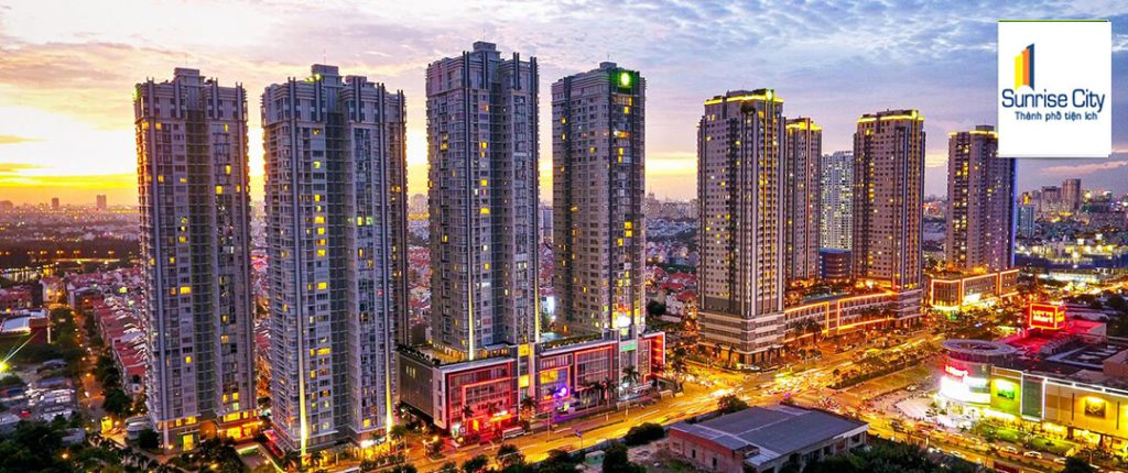 khu căn hộ cao cấp sunrise city view