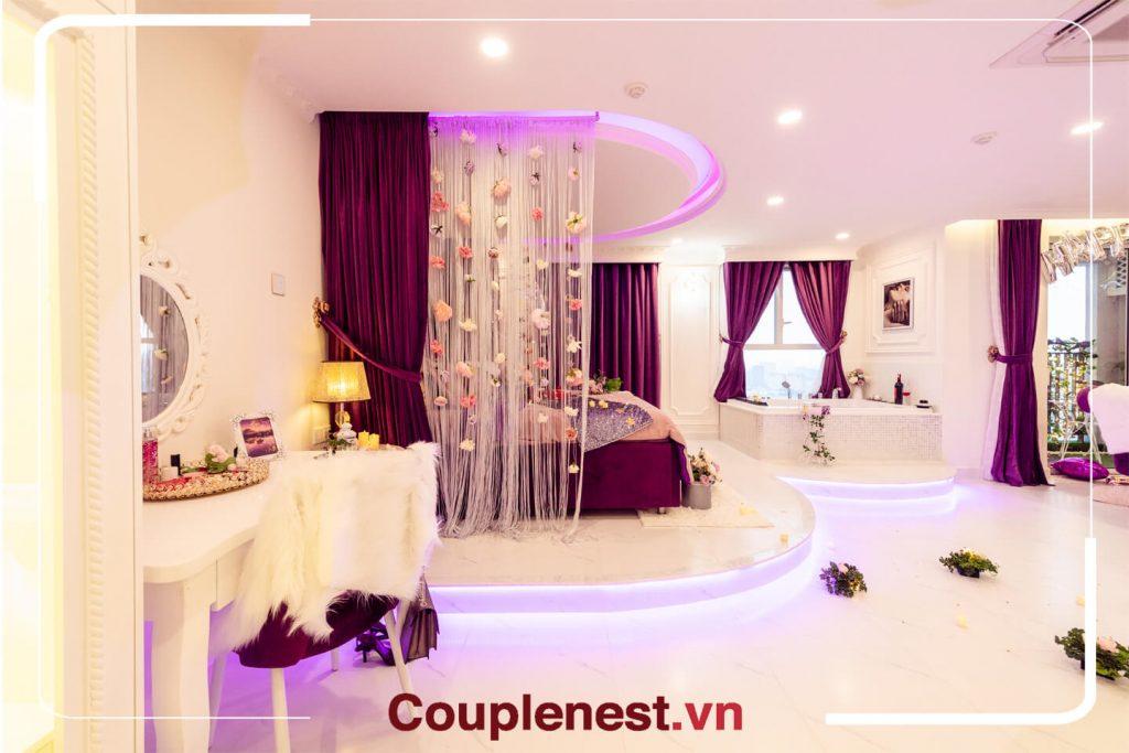 Một không gian thật tinh tế và lãng mạn