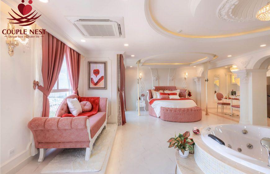 Phòng thoáng mát, sạch sẽ tại Couple Nest - Khách sạn kín đáo ở tphcm